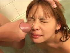 Small tit Asian hairy pussy felt out!